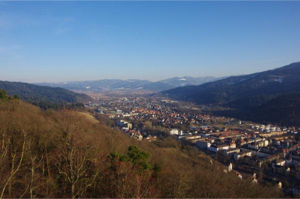 Blick vom Turm nach Osten